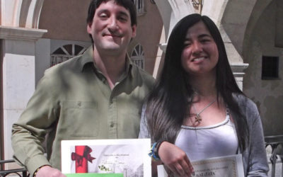 Alberto Martín y Daniela Ayala premiados