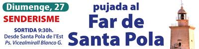 Senderismo: Subida al Faro de Santa Pola – Domingo, 27