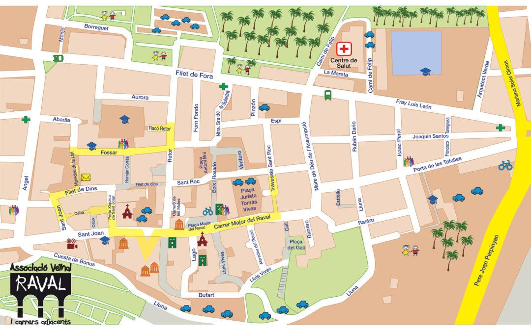 El Raval, barrio a peatonalizar