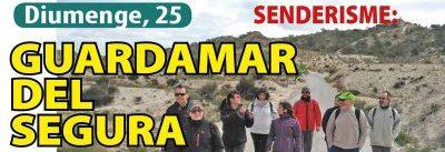 Senderismo: Guardamar del Segura – Domingo, 25