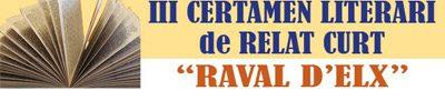 III Certamen Literari Raval