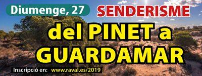 Senderisme: Del Pinet a Guardamar – Diumenge, 27