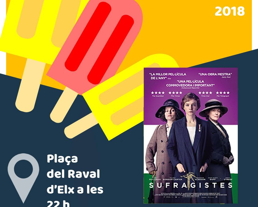 Cinema a la Fresca – SUFRAGISTES