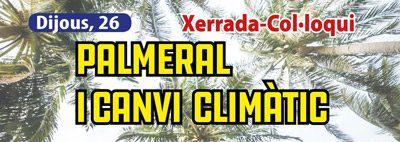Palmeral i canvi climàtic