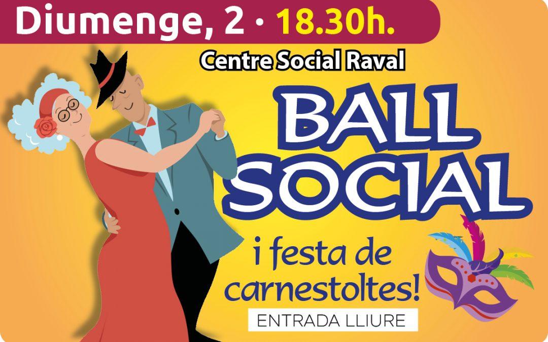 Ball Social al Raval – 2 de Febrer -18.30h.