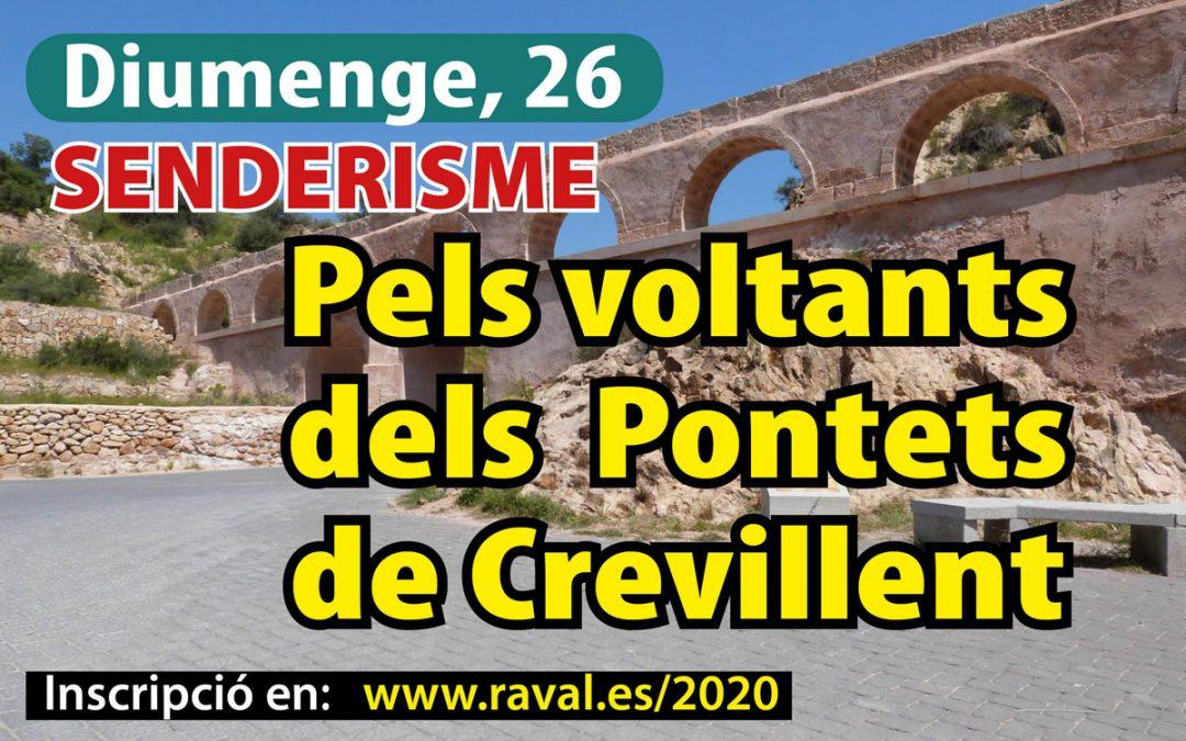 Senderisme: Pels voltants del Pontets de Crevillent – Diumenge, 26