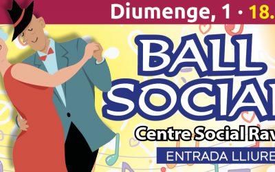 Ball Social al Raval – 1 de Març -18.30h.