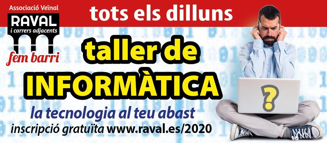 Taller de Informàtica 2020 (SUSPÉS)