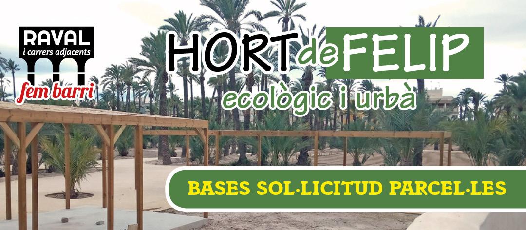 Hort de Felip, ecològic i urbà