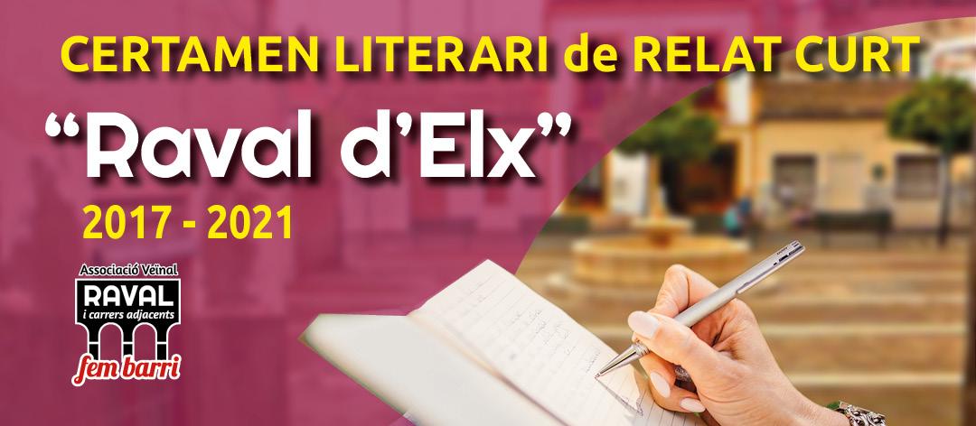 Certamen Literari Raval d'Elx 2017-2020 (llibre) 2017-2020